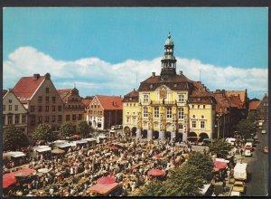 Germany Postcard - Sol-u Moorbad Luneburg, Rathaus Und Marktplatz  LC3198