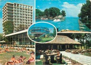 Europe Hungary Postcard Lake Balaton multi view