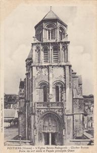 POITIERS, Vienne, France, 1900-1910´s; L´Eglise Sainte-Radegonde, Clocher R...