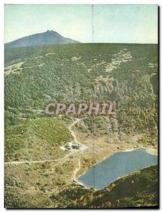 Modern Postcard Giant Snezka U Maleho Jezera