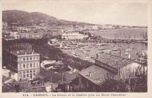 France Cannes Le Cours et le Casino pris du Mont Chevalier