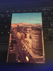 Vintage Postcard; Main Street- Salt Lake City Utah