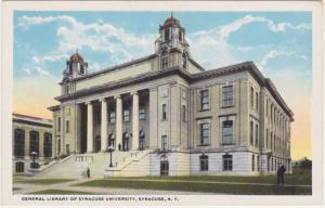 Syracuse University Library - Syracuse NY, New York - WB