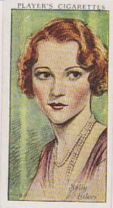Players Cigarette Cards Film Stars No 17 Sally Eilers