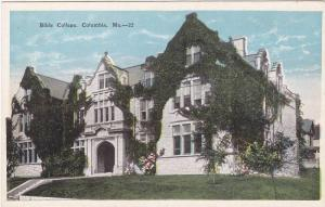 Bible College, Columbia, Missouri, 1910-1920s