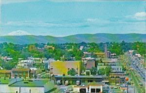 Washington Yakima Looking West From Downtown 1969