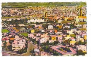 CASABLANCA, Aerial View, Le Palais de S.M. le Sultan et l'Euvre Pauline Kergo...