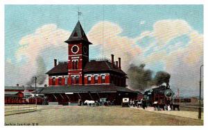 New Hampshire Nashua Junction , Railway Station