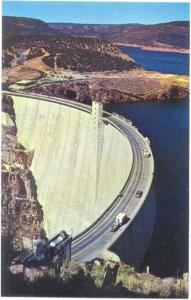Flaming Gorge Dam & Visitor Center Wyoming WY