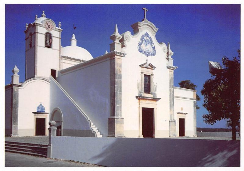 Portugal Almancil Algarve Church of S. Lourenco Chancel Igreja de S. Lourenco
