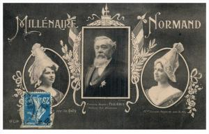 21790 France Millenaire Normand Fallieres, Anquetil, Halles
