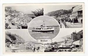RP: 5-view with ferry boat, Bentnor, Isle of Wight , PU 1962