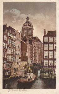 Netherlands Amsterdam Oude Zijds Kolk 1914
