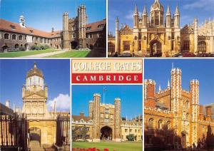 College Gates Cambridge Queen's College Gonville and Caius Trinity