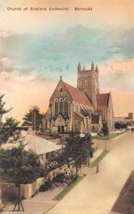 Bermuda Church of England Cathedral Antique Postcard J59105