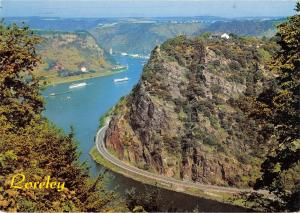 GG14074 Loreley Schiff River Boats bateaux Panorama