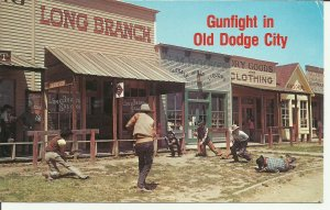 Gunfight In Old Dodge City, Historic Front Street, Kansas