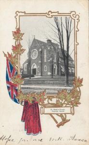 PRESCOT , Ontario , Canada , 1906 ; St Mark's Church