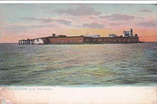 South Carolina Charleston Fort Sumter Tuck