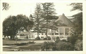 Autos 1920s Hotel De Coronado California RPPC Photo Postcard 4448