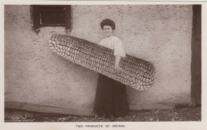 RP; Two Products of  Indiana,  Girl & Corn , 00-10s