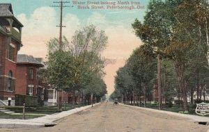 PETERBOROUGH , Ontario , Canada , 1909 ; Water Street , North
