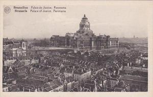 Belgium Brussels Palais de Justice Panorama