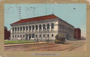 Public Library Boston Massachusetts 1906