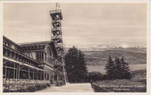 RP, Restaurant Utokulm Sonnenaufgang, Uerliberg (874m), Switzerland, 1920-1940s