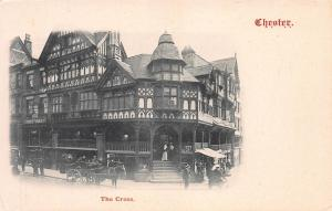 The Cross, Chester, England, Very Early Postcard, Unused