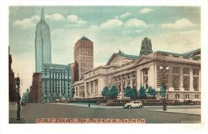 16761 NY City 1920's   Public Library