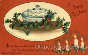 Artist Ellen Clapsaddle, Christmas Postcards Post Card