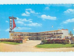 Unused Pre-1980 SATELLITE MOTEL Medicine Hat AB n7509