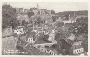 RP: Luxembourg - Ville-Basse et Ville-Haute , 1930s