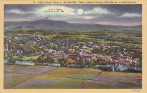 Birds Eye View Of Sevierville Great Smorky Mountains In Background Smorky Mou...