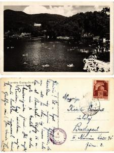 CPA AK BAILE SOVATA FÜRDÖ Medve tó ROMANIA (502781)
