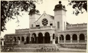 indonesia, SUMATRA MEDAN, Gedung Kerapatan (1920s) Real Photo