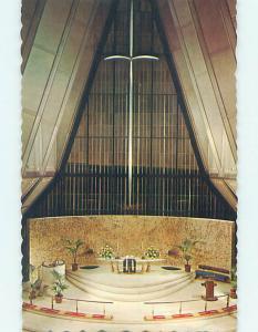 Unused Pre-1980 CHURCH SCENE Colorado Springs Colorado CO L4119