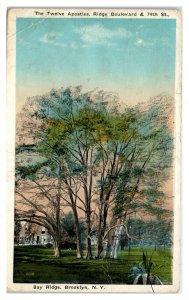 1922 The Twelve Apostles, Bay Ridge, Brooklyn, NY Postcard *6L(3)24
