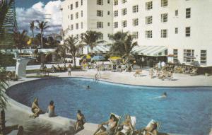 Swimming Pool, Coronado Hotel, MIAMI BEACH, Florida, PU-1967