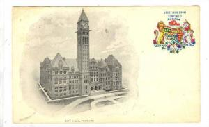City Hall, Code of Arms, Greetings from Toronto, Ontario, Canada, 00-10s