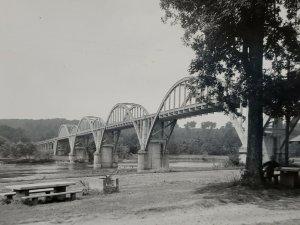 Cotter Arkansas Bridge Over White River Lakeview 1967 Vintage Postcard   300
