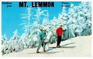 Arizona Tucson Mt. Lemon , Snow  Skiing