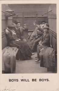 Bamforth Boys Will Be Boys 1907