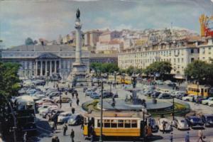 Portugal Lisboa Don Pedro IV Square