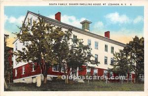 South Family Shaker Dwelling House Mount Lebanon, NY, USA Unused