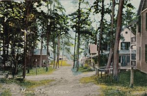 Maine Pine Grove Main Street sk1451