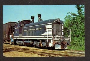 LA Arkansas & Louisiana Missouri Railroad Train Monroe Postcard Carte Postale RR