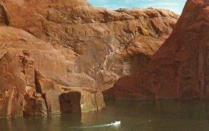 Lake Powell, Utah, UT, Reservoir above Glen Canyon Dam, Vintage Postcard g9273