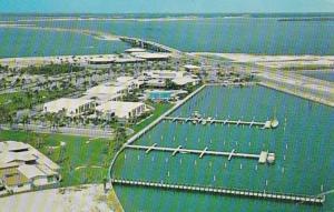 Florida St Petersburg Aerial View Tierra Verde Looking Northeast 1964